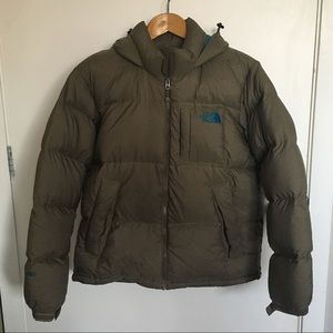 Brown North Face Puffer Jacket